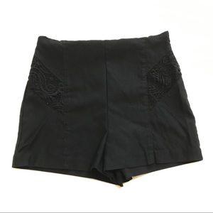 Black Mini Shorts